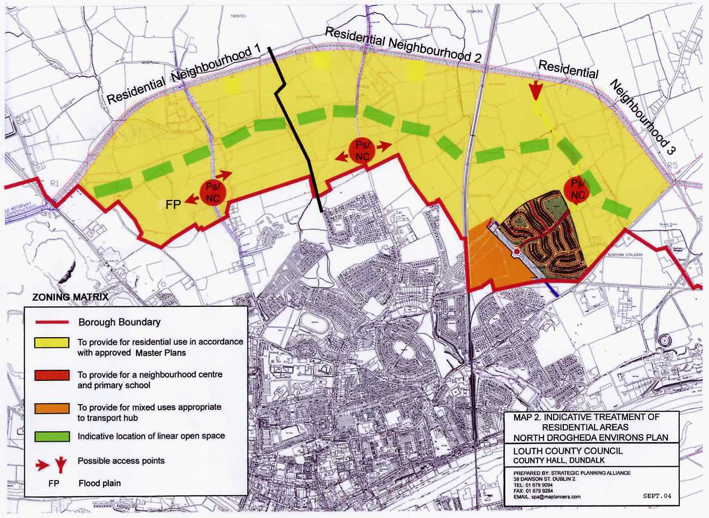 North Drogheda Environs Local Area Plan Louth County Council