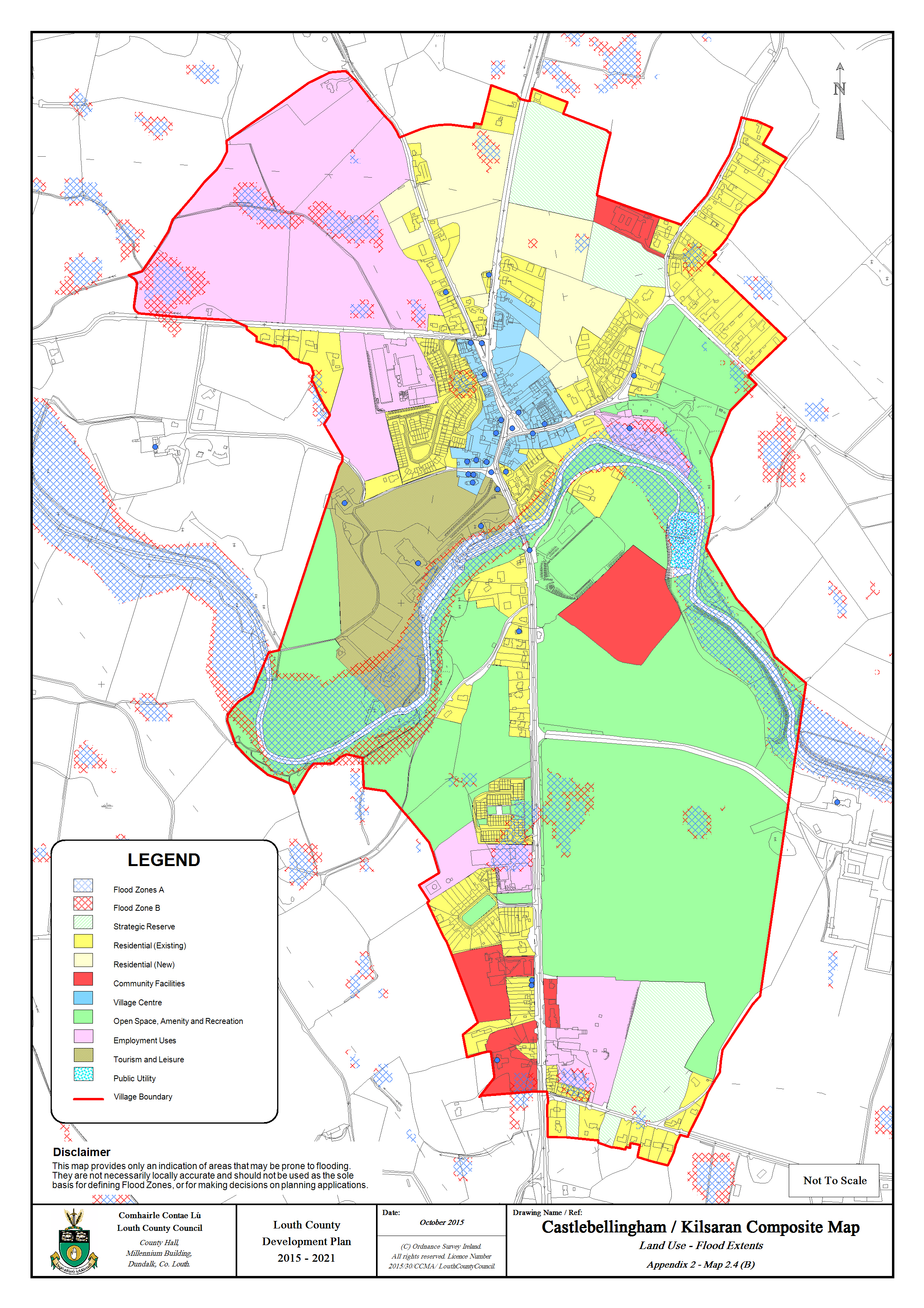 Volume A Level Settlements Maps Louth County Council - Flooded roads map