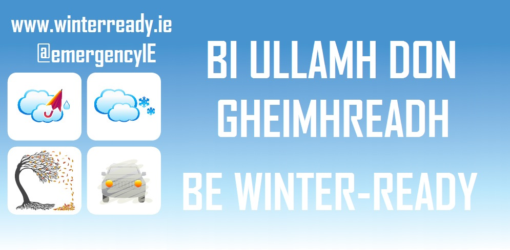 Be Winter Ready IRISH & ENGLISH